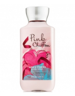 BODY LOTION - BATH AND BODY WORKS - 236 ML - PINK CHIFFON