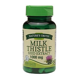Thuốc bảo vệ gan loại trừ độc tố Nature's Truth Milk Thistle Seed Extract 1000mg