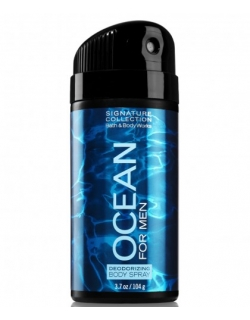 DEODORIZING BODY SPRAY FOR MEN - BATH&BODYWORKS - OCEAN